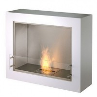 Биокамин Ecosmart Fire Aspect Black/White satin [07079]