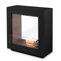 Биокамин Ecosmart Fire Fusion Black/White satin [07249]